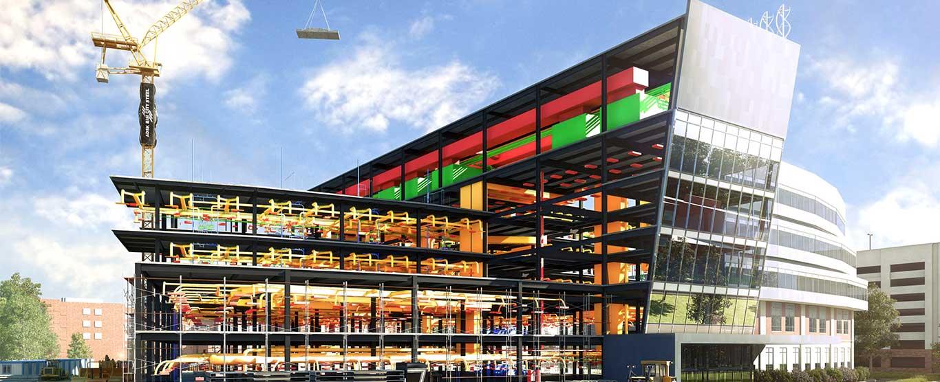 Asir Medical City – VDC and Shop Drawing Production
