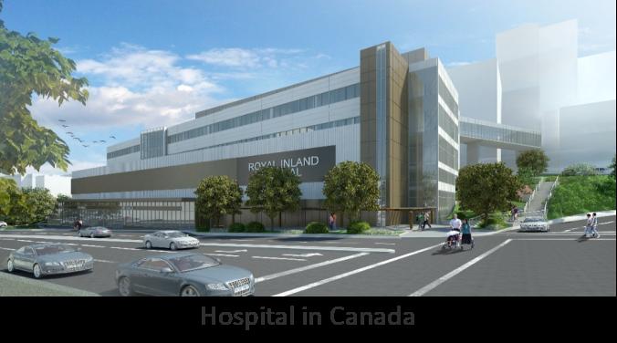 Hospital in Canada