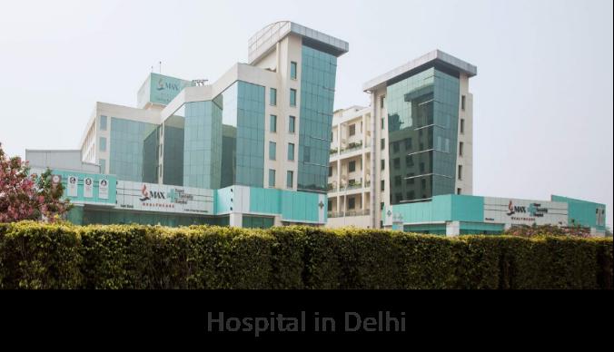 Hospital in Delhi, India