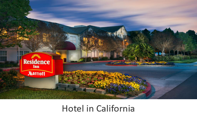Hotel in California
