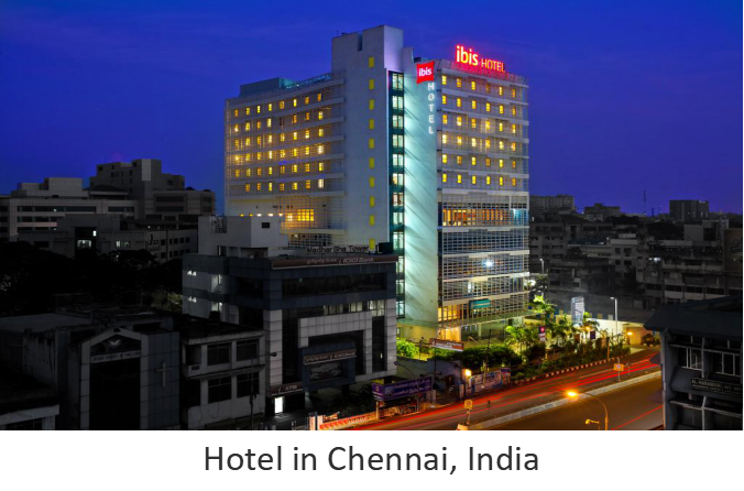 Hotel in Chennai, India