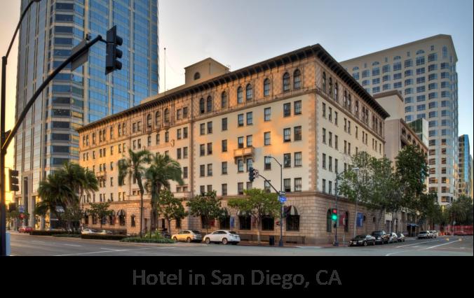 Hotel in San Diego, CA