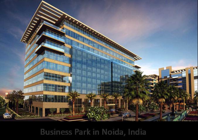 Business Park in Noida, India