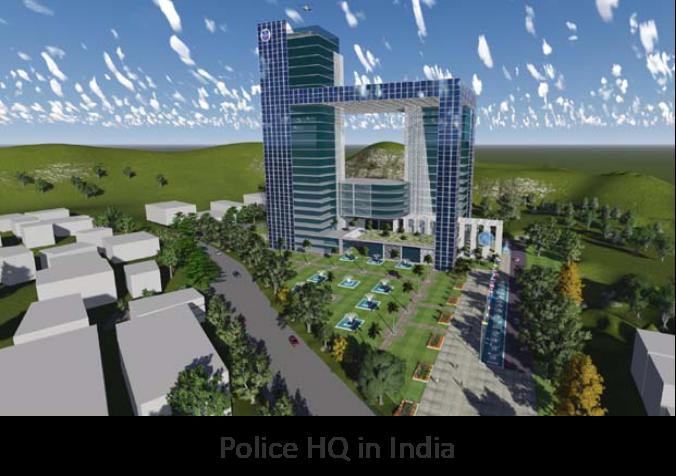 Police Head-Quaters, India