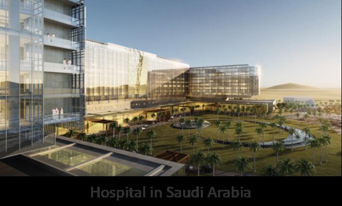 Hospital in Saudi Arabia