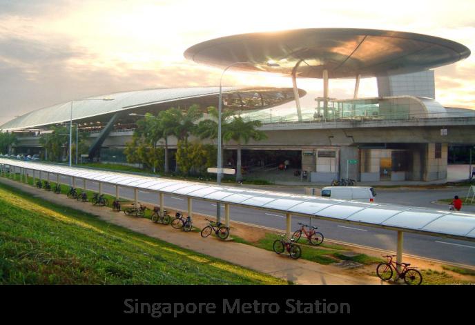 Singapore Metro Station