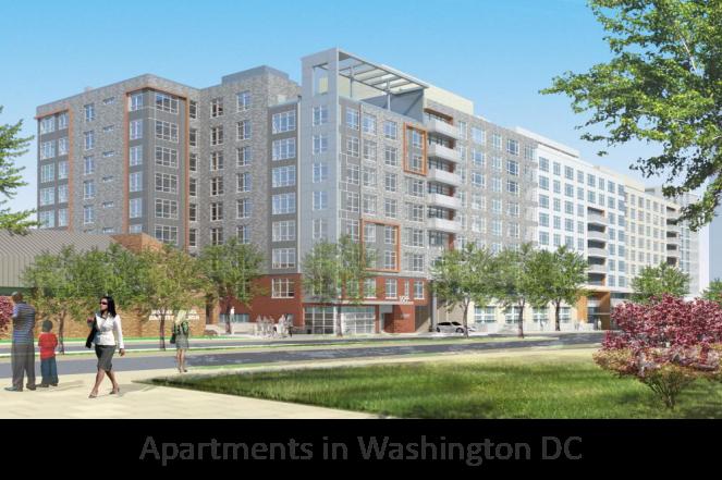 Apartments in Washington DC, USA